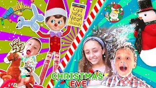 FUNnel CHRISTMAS EVE 2017!  Elf on the Shelf Caught Again on FINAL DAYS!  Holiday Vlog