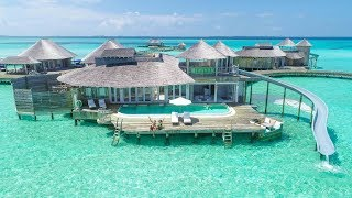 MALDIVES LUXURY VILLA WITH SLIDE TOUR