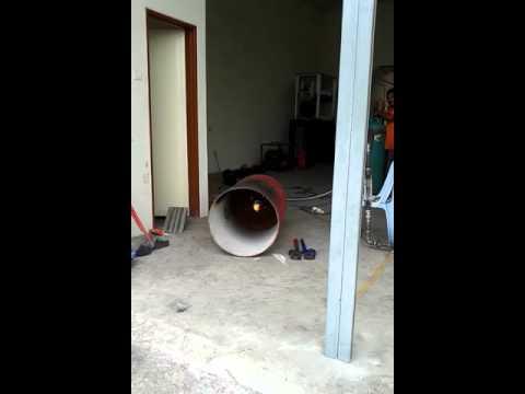 Testing industrial LPG burner Malaysia