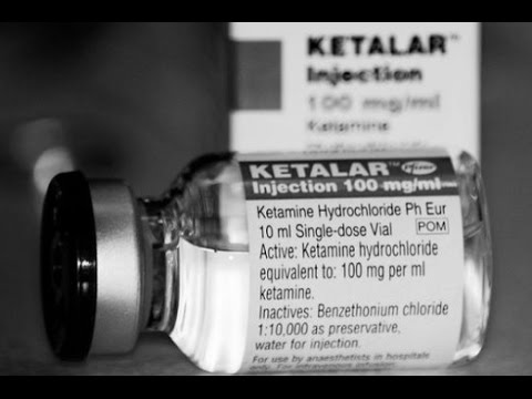 Low Dose Ketamine May Treat Depression