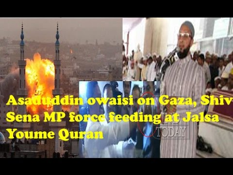 Full Video: Asaduddin owaisi latest speech video on Jalsa e...