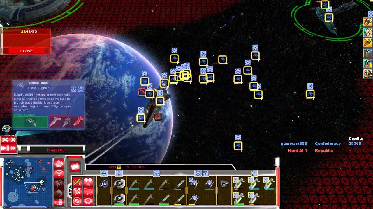 Star Wars Republic at War Space Battle Star Wars Republic at War The