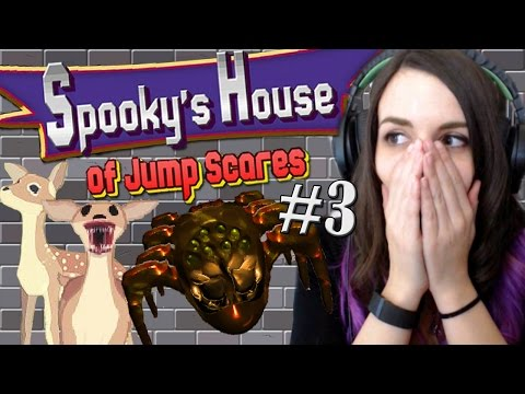 Bambi Tries To Kill Me...AND THEN SPIDERS!!! - Spooky's House of Jump Scares [Rooms 400-The End?]