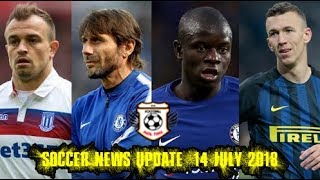 Football Realtime - Soccer News Update 14 July 2018
