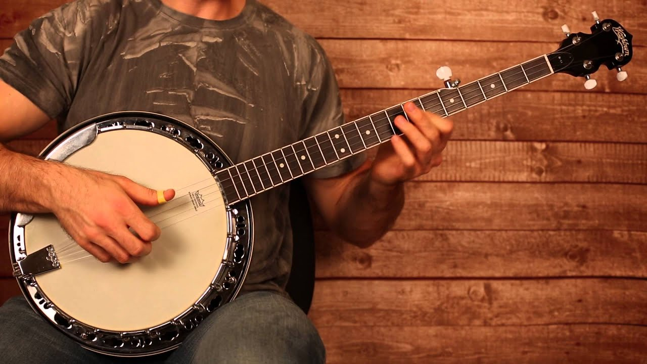 Imagine Dragons u0026quot;Radioactiveu0026quot; Banjo Lesson (With Tab) - YouTube