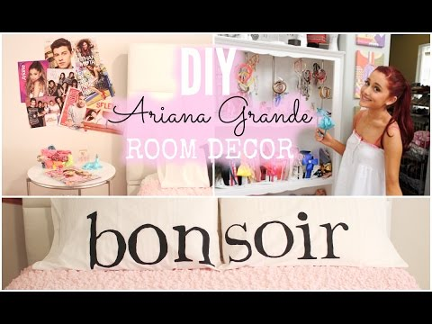 DIY Ariana Grande Room Decor ♡ Cheap + Simple!