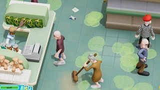 Building a Hospital that values money over health in Two Point Hospital