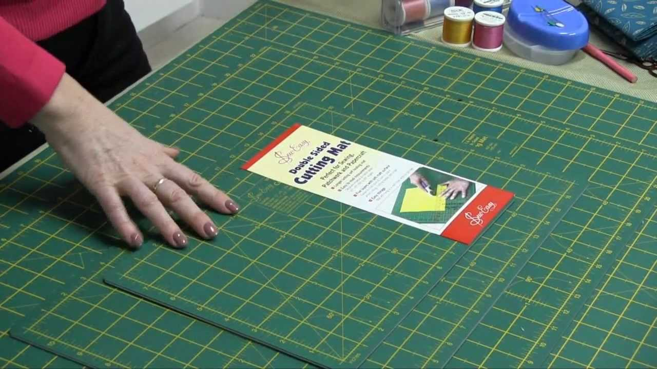 New Sew Easy Cutting Mats Youtube