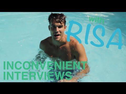Inconvenient Interviews w/ Risa: Peter Porte's Steamy Photo Shoot