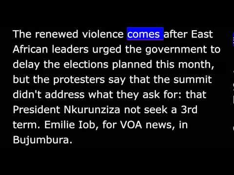 VOA news for Wednesday, June 3rd, 2015
