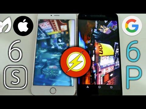 VIDEO: IPHONE 6S PLUS VS NEXUS 5X - NEXUS 6P (REAL SPEEDTEST)