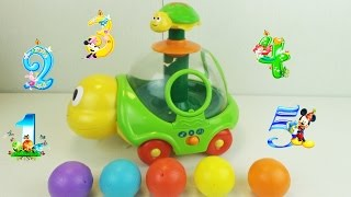 Turtle toy sorter for toddlers/Черепаха-игрушка сортер для малышей