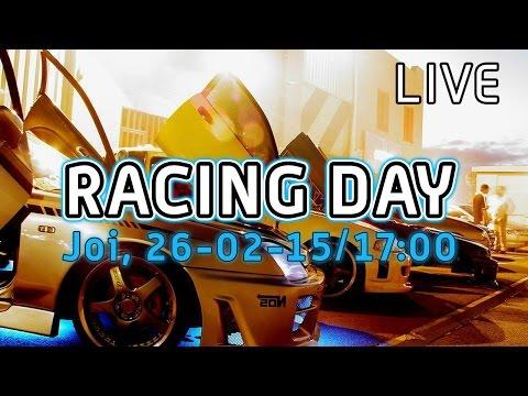 LIVE - Racing Day in Showroom-ul PC Garage