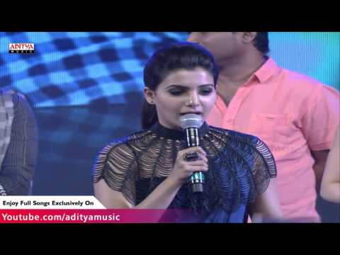Samantha Speech At Rabasa Movie Audio Launch -  Jr.Ntr, Samantha, Pranitha