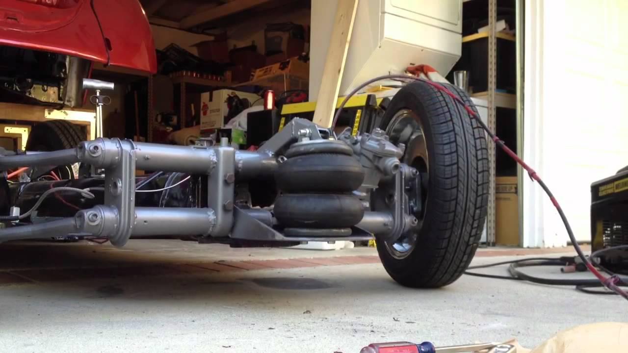 Front Airbag Setup 61 Bug Youtube