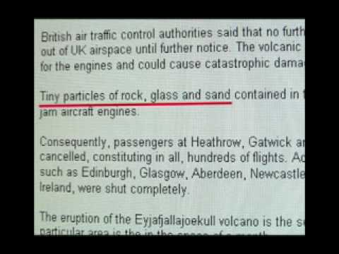 Iceland's Volcanic Eruption And Flight Cancellations Prophecy.flv