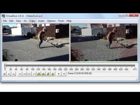 VirtualDub and Deshaker tutorial