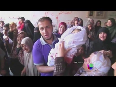 Israel ataca un refugio de civiles en Gaza