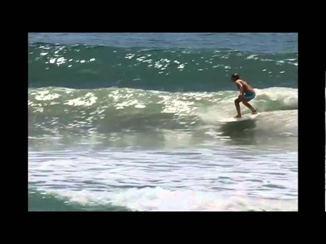 Jen Smith Surfing in Ecuador