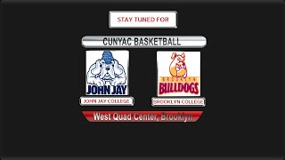 BROOKLYN COLLEGE BASKETBALL DOUBLE HEADER VS JOHN JAY COLLEGE 12-4-15