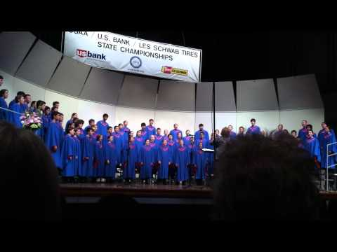 South Salem High School's Symphonic Choir @ State 2014 Song1