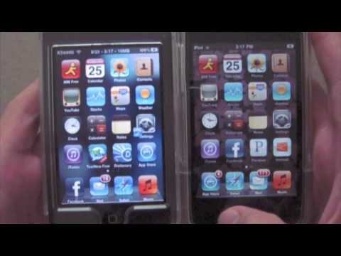 iOS 4 Dock on an iPod touch 1G or iPhone 2G Running 3.1.3