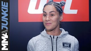 The Ultimate Fighter 25 Finale full Jessica Eye post-fight interview