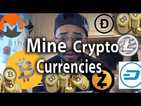 Mining Crypto-Currencies 2017 | Mine from Phone and PC | BitCoin Ethereum Litecoin |  September