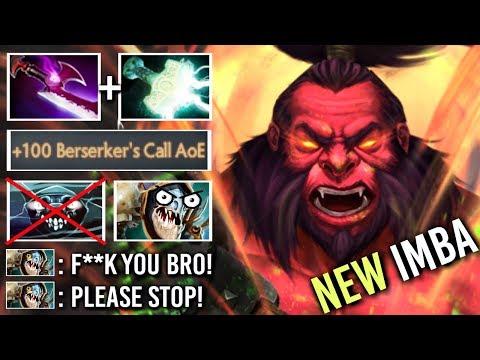 EPIC SHIT Carry Axe Counter Slark EZ Crazy Mjollnir Silver Edge Build Godlike Gameplay WTF Dota 2