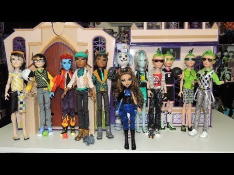 Collection Dolls Monster High Monster High Boys Doll