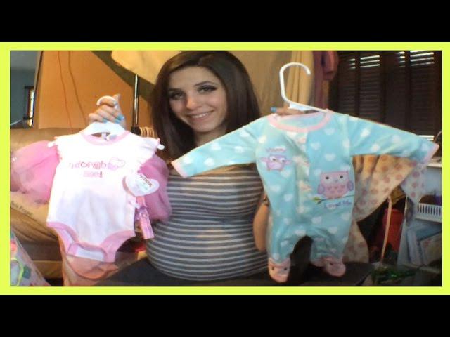 Newborn Baby Clothing Haul (Baby Shower)