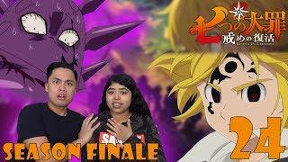The Seven Deadly Sins Season 2 Episode 24 Reaction! (Nanatsu no Taizai) EVIL MELIODAS VS FRAUDRIN ?