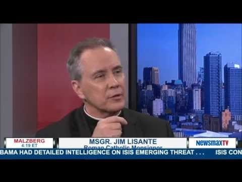 Malzberg | Msgr. Jim Lisante to discuss Pope Francis as a possible target of ISIS