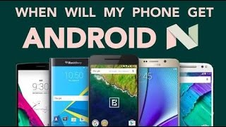 List of Phones getting Android 7.0 Nougat Update - Expected & Confirmed | all mobile brands l