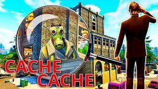 CACHE CACHE SERVEUR PRIVÉ A TILTED sur FORTNITE BATTLE ROYALE !