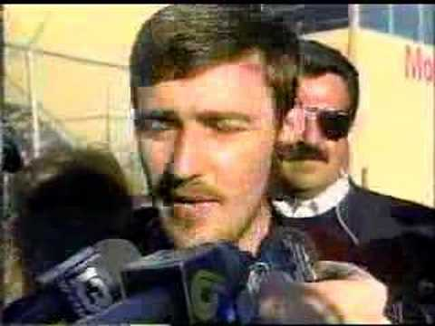 1992 Hooters 500 Davey Allison Interview Video