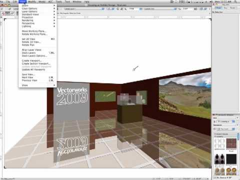 Gobo Textures in Vectorworks Video