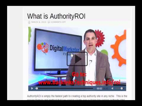 Authority ROI Review - Want a Real Authority ROI Review?