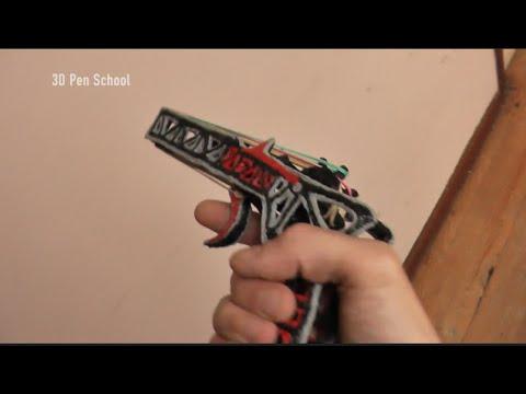 3D Pen | 8 Shoot Semi-auto Rubber band Gun | 3D Pen Creations