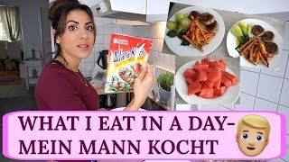 WHAT I EAT IN A DAY - GESUND UND FIT I MEIN MANN KOCHT I Sevins Wonderland