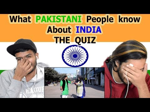 Indian reaction on What PAKISTANI people know about INDIA | Pakistan on India | Swaggy d thumbnail