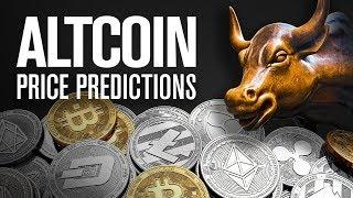 Next Bull Run Price Predictions (Altcoins) 🚀🌙