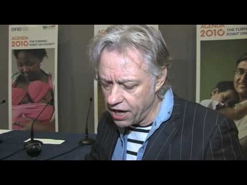 Nick Stern & Bob Geldof on climate change, development and the MDGs