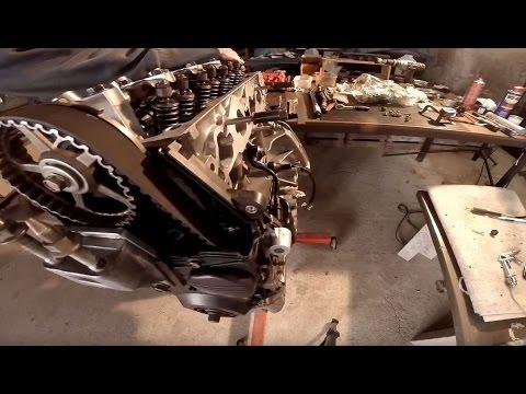 2004 Honda Civic D17 Engine Rebuild time lapse DIY