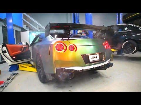 2017 Nissan GT-R Tanner Fox