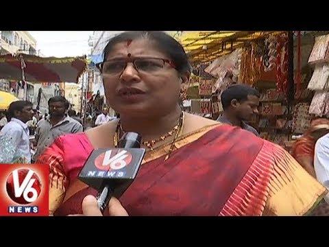 Ujjaini Mahankali Temple EO Annapurna Speaks On Arrangements For Bonalu 2018 | V6 News