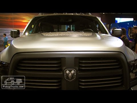 Excellent 2014 SEMA Show 2015 Ram 2500 Outdoorsman Concept  YouTube
