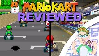 Every mario Kart Reviewed - TheThokaShow!