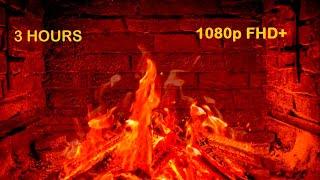 Fireplace s 3 hours 1080p FHD+ Relaxing  And Sounds, Şömine su ,Rahatlatıcı lar
