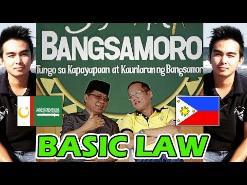 BANGSAMORO BASIC LAW (B.B.L) I Am for PEACE! #23